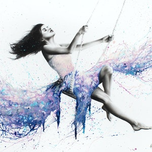 (CreativeWork) An Afternoon dream by Ashvin Harrison. arcylic-painting. Shop online at Bluethumb.