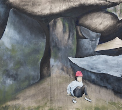 (CreativeWork) Grounded by Dylan Cooper. mixed-media. Shop online at Bluethumb.