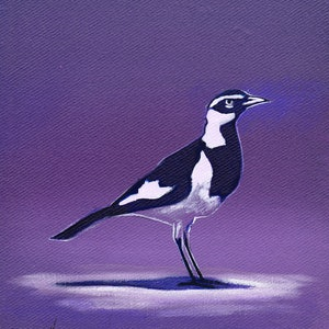 (CreativeWork) Mudlark by Ross Morgan. arcylic-painting. Shop online at Bluethumb.