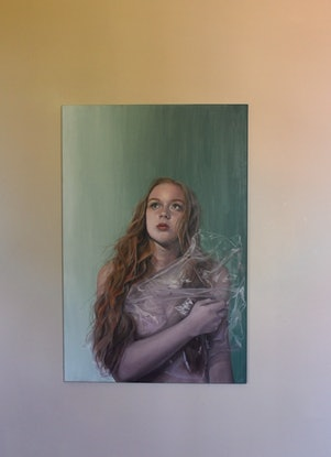 (CreativeWork) Venus #4  by Aliss Rigby. Oil. Shop online at Bluethumb.