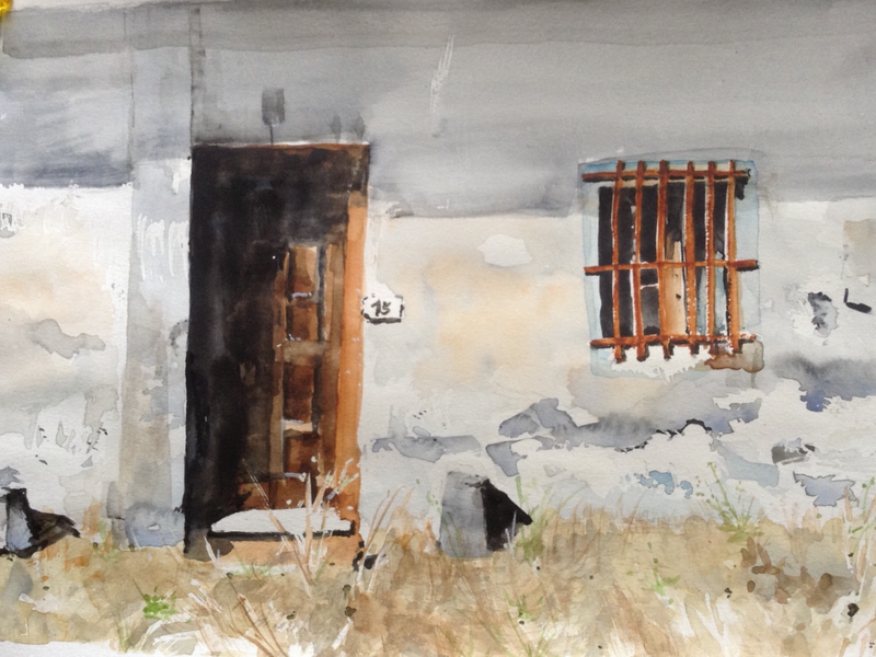 (CreativeWork) Number 15 by Bernd Rieve. watercolour. Shop online at Bluethumb.