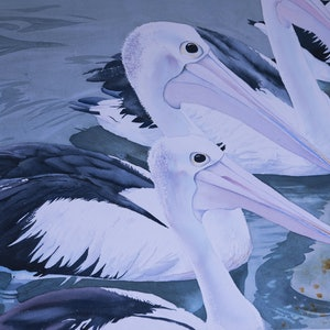 (CreativeWork) The Gathering by Dellene Strong. watercolour. Shop online at Bluethumb.