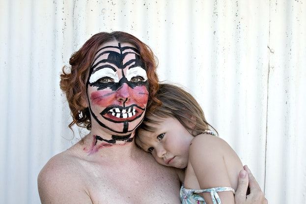 (CreativeWork) Portrait of Mother and Daughter, After Mirka, 2008 Ed. 2 of 8 by Concettina Inserra. Photograph. Shop online at Bluethumb.