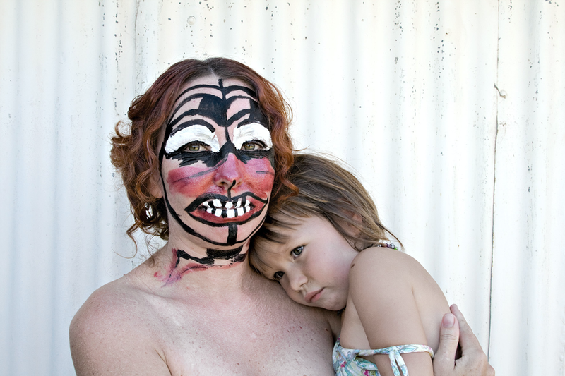 (CreativeWork) Portrait of Mother and Daughter, After Mirka, 2008 by Concettina Inserra. photograph. Shop online at Bluethumb.