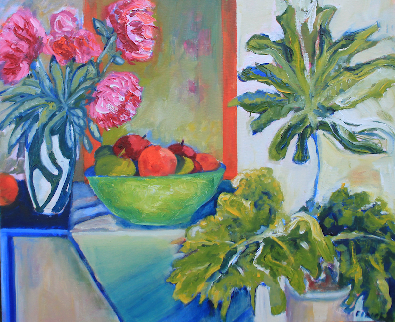 (CreativeWork) HELLO MARGARET by Maureen Finck. Oil Paint. Shop online at Bluethumb.