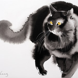 (CreativeWork) On the Prowl by Soo Beng Lim. drawing. Shop online at Bluethumb.