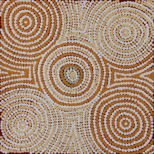 (CreativeWork) Kapi Tjukurrpa 519-17 by Ada Andy Napaltjarri. arcylic-painting. Shop online at Bluethumb.