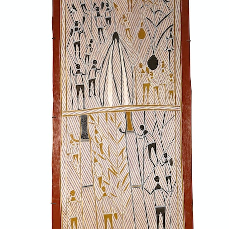 (CreativeWork) Hunting for Honey by Laurie Marburduk. Other Media. Shop online at Bluethumb.