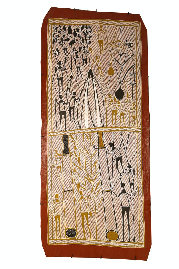 (CreativeWork) Hunting for Honey by Laurie Marburduk. other-media. Shop online at Bluethumb.