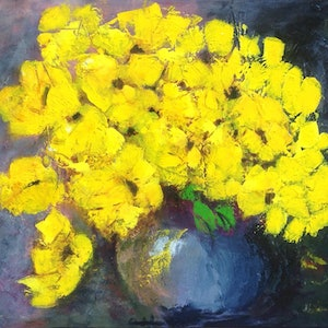 (CreativeWork) YELLOW SURPRISE by Helen Tainsh. #<Filter:0x00007f1f94b70ce0>. Shop online at Bluethumb.