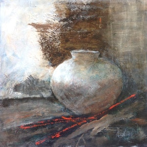 """(CreativeWork) """"Collectable"""" by Helen Tainsh. #<Filter:0x00007f1f94b5ad00>. Shop online at Bluethumb."""