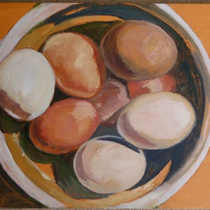 (CreativeWork) $4.50 a dozen by Pete GAILEY. acrylic-painting. Shop online at Bluethumb.