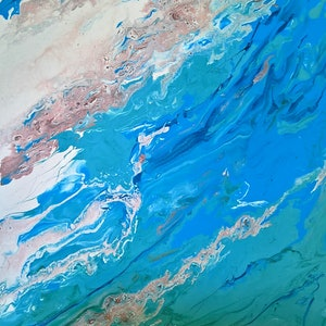 (CreativeWork) Ocean Dreaming by Cheryl James. arcylic-painting. Shop online at Bluethumb.