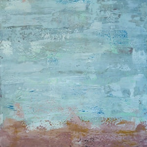 (CreativeWork) Winter Squall by Barry Johnson. arcylic-painting. Shop online at Bluethumb.