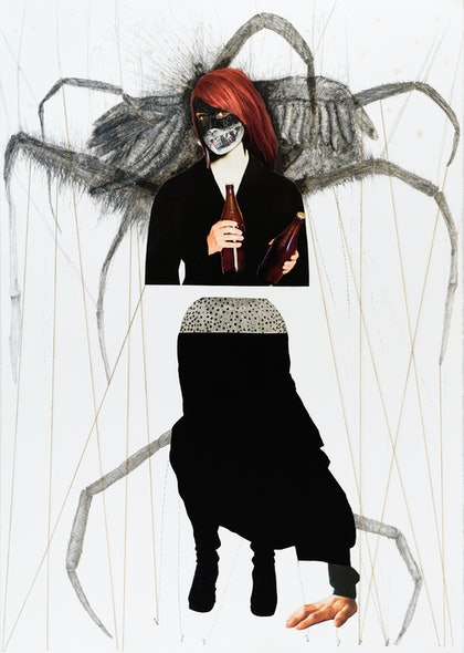 (CreativeWork) The hunger by SILVIA A SELLITTO. mixed-media. Shop online at Bluethumb.