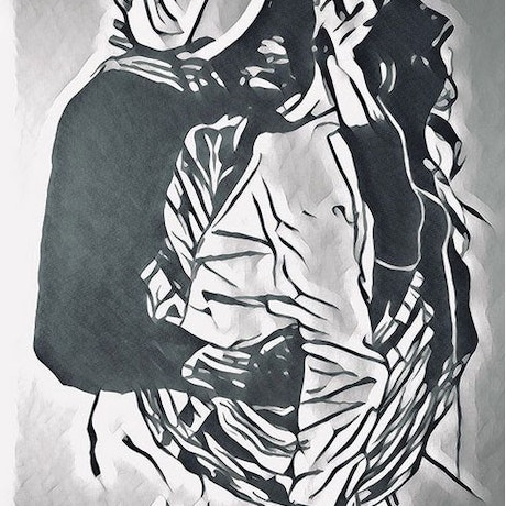 (CreativeWork) Love by Matthew Halstead. Drawings. Shop online at Bluethumb.