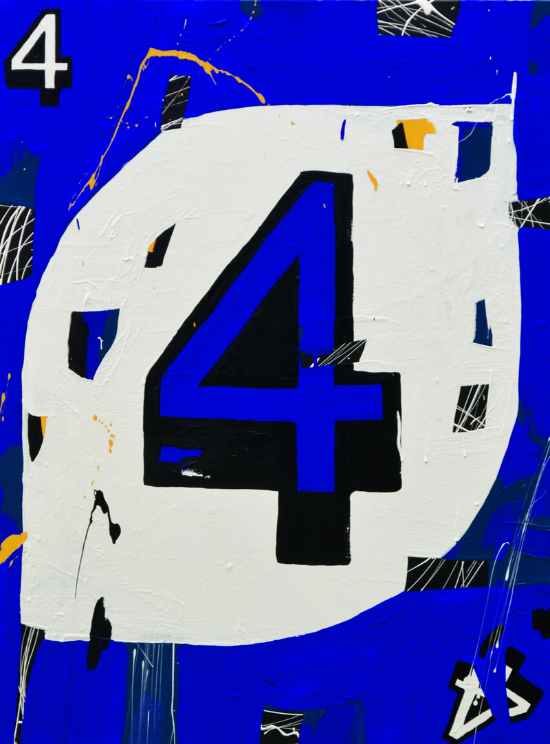 (CreativeWork) Fantastic Four by Ben Tankard. arcylic-painting. Shop online at Bluethumb.