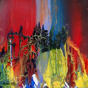 (CreativeWork) Kingdom by William Holt. arcylic-painting. Shop online at Bluethumb.