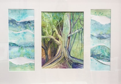 The Banyan Tree Triptych