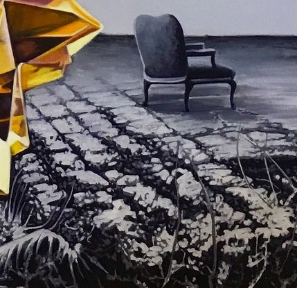 (CreativeWork) Shine Opposite by Renata Waterfall. Oil Paint. Shop online at Bluethumb.