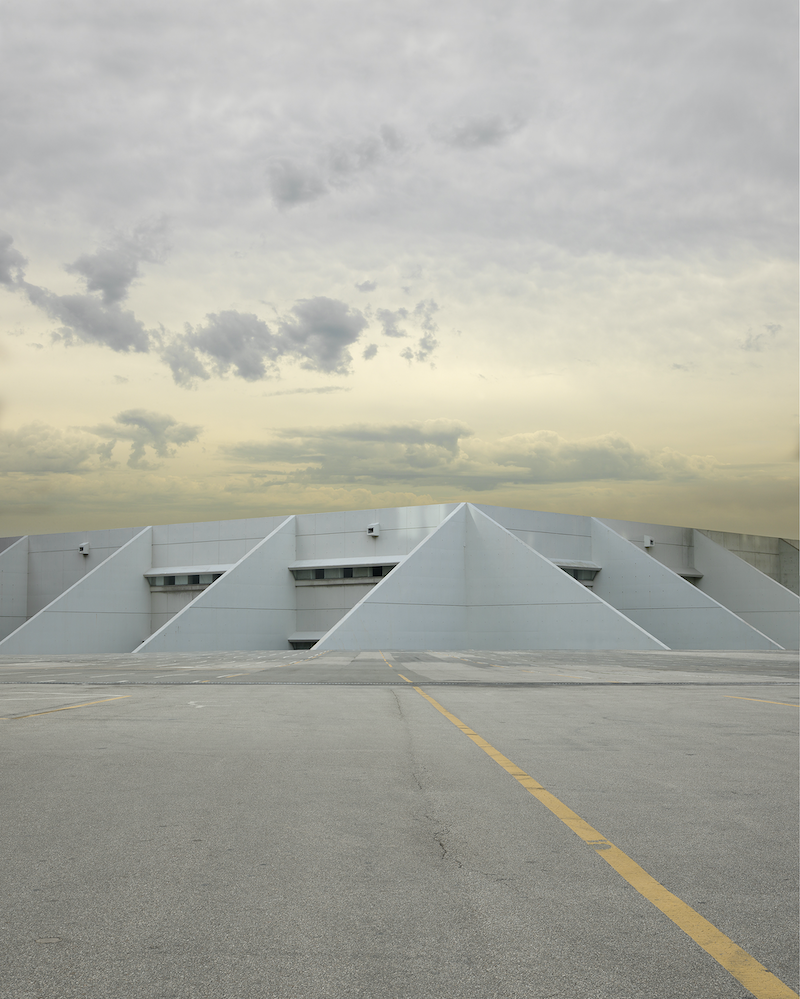 (CreativeWork) Modernist Structure by David Manley. photograph. Shop online at Bluethumb.