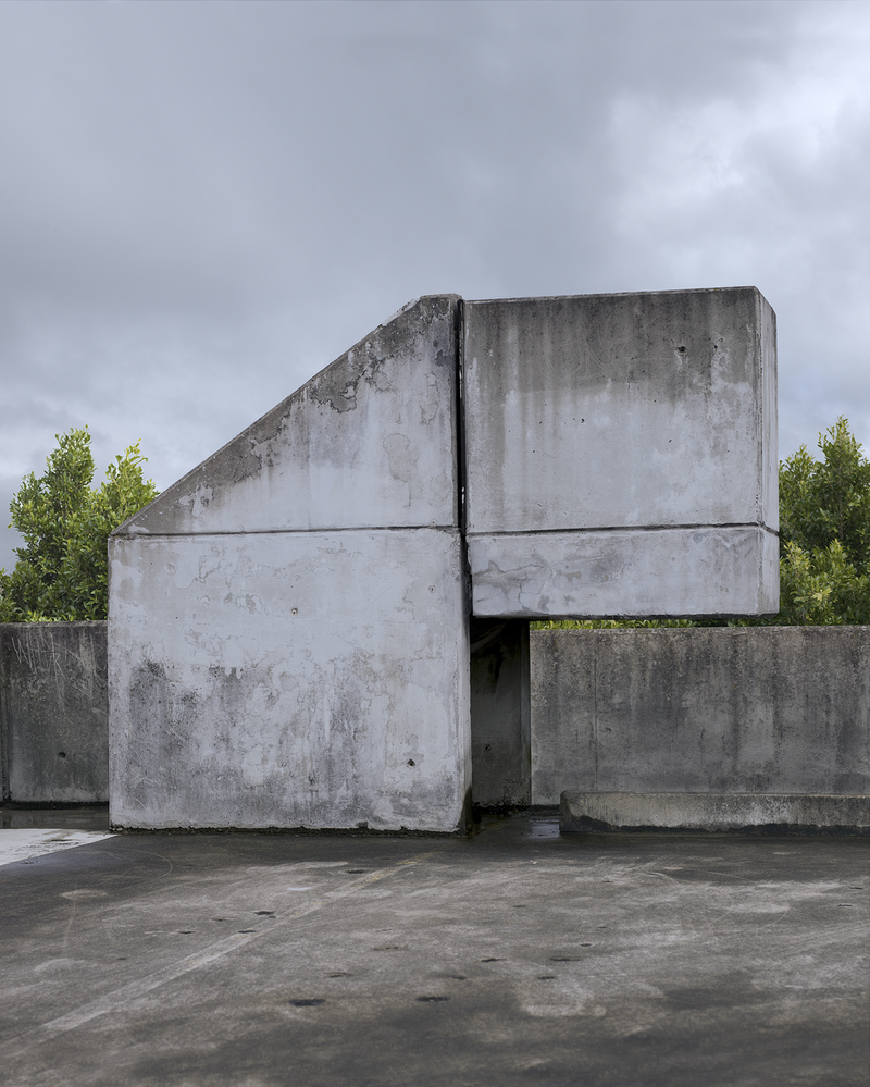 (CreativeWork) Zoomorphic Cement Structure by David Manley. photograph. Shop online at Bluethumb.