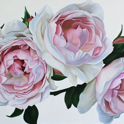 (CreativeWork) Olympia by Freya Powell. Acrylic Paint. Shop online at Bluethumb.
