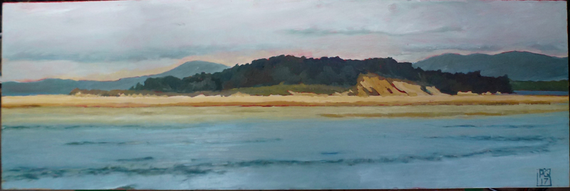 (CreativeWork) Nambucca Heads by Pete GAILEY. oil-painting. Shop online at Bluethumb.