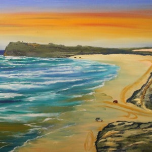 (CreativeWork) FRASER ISLAND - INDIAN HEAD by Ralph Coles. oil-painting. Shop online at Bluethumb.