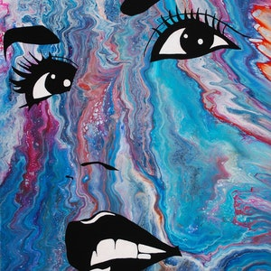(CreativeWork) VALERIE by Mike Pedro. mixed-media. Shop online at Bluethumb.