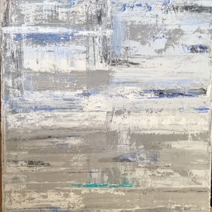 (CreativeWork) Winter by Greig Whitelaw. arcylic-painting. Shop online at Bluethumb.