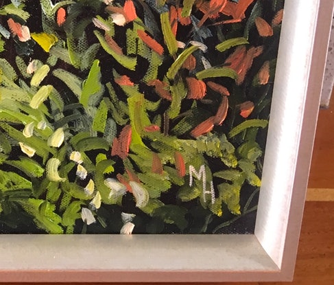 (CreativeWork) Springbrook by Meredith Howse. Oil Paint. Shop online at Bluethumb.