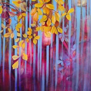 (CreativeWork) Evolving by Cathy Gilday. arcylic-painting. Shop online at Bluethumb.