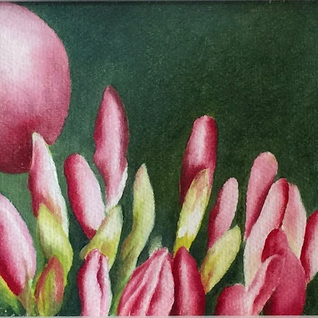 (CreativeWork) Spring by Anna Warren. Oil Paint. Shop online at Bluethumb.