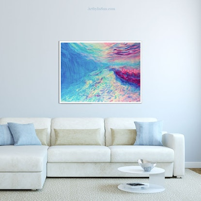 (CreativeWork) [Framed] Underwater Dreaming  Ed. 1 of 50 by In Sun Park. Print. Shop online at Bluethumb.