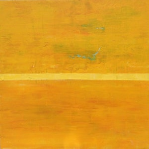 (CreativeWork) Yellow by Greig Whitelaw. arcylic-painting. Shop online at Bluethumb.