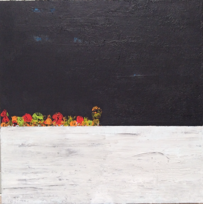 (CreativeWork) Horizons by Greig Whitelaw. arcylic-painting. Shop online at Bluethumb.