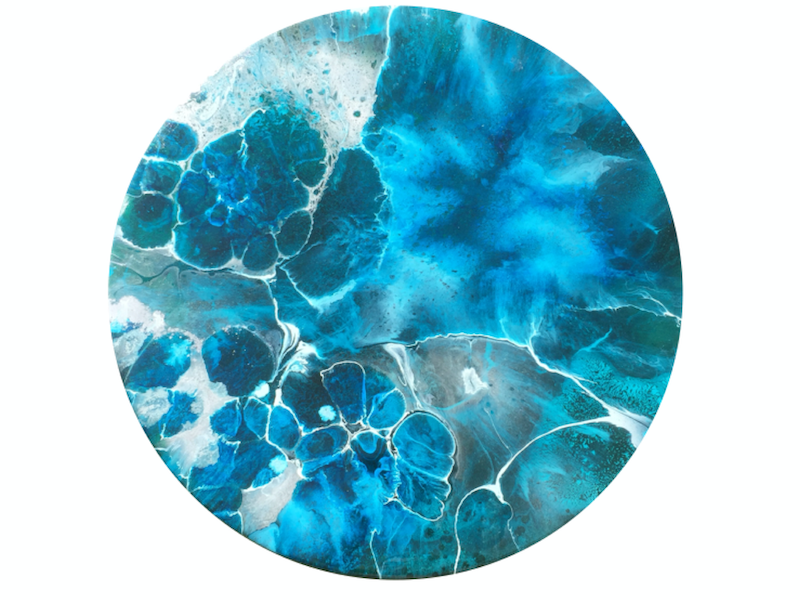 (CreativeWork) Whirlpool 2 by Trudy Lowndes. resin. Shop online at Bluethumb.