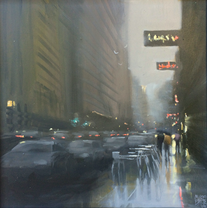 (CreativeWork) Waymouth Weather by Mike Barr. oil-painting. Shop online at Bluethumb.