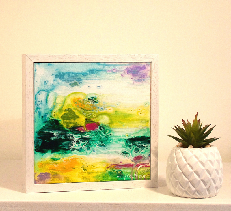 (CreativeWork) Wetlands 8 by Hilly Coufreur. arcylic-painting. Shop online at Bluethumb.
