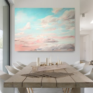(CreativeWork) Gathering Clouds by Emily Snow. #<Filter:0x000055b81ca41d00>. Shop online at Bluethumb.