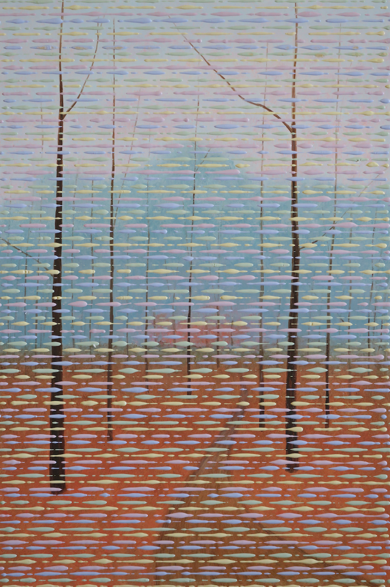 (CreativeWork) The Track by Barry Johnson. arcylic-painting. Shop online at Bluethumb.