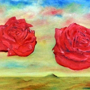 (CreativeWork) Love In Motion by Garry Arnephy. oil-painting. Shop online at Bluethumb.