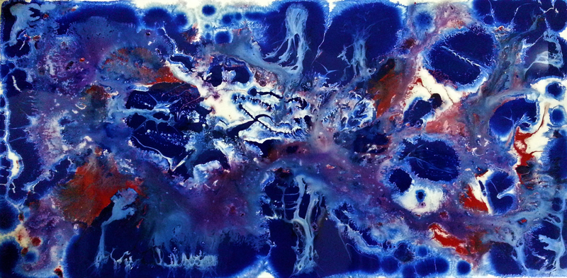 (CreativeWork) The North Pole by Garry Arnephy. Acrylic Paint. Shop online at Bluethumb.