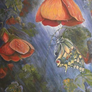 (CreativeWork) Shelter by Cory Acorn. arcylic-painting. Shop online at Bluethumb.