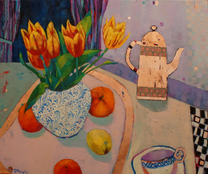 (CreativeWork) THE COPPER POT by Sandra Michele Knight. Mixed Media. Shop online at Bluethumb.