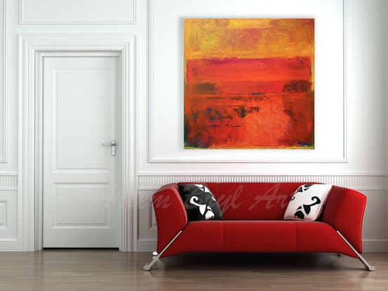 (CreativeWork) Desire by Artem Bryl. Acrylic Paint. Shop online at Bluethumb.