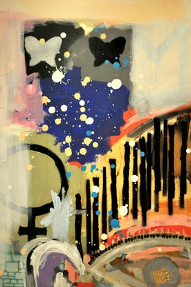 (CreativeWork) HER by Cameron Holmes. Mixed Media. Shop online at Bluethumb.