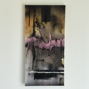 (CreativeWork) Australia Heart +pink 3 piece no.1  by Aaron D Bryant. arcylic-painting. Shop online at Bluethumb.