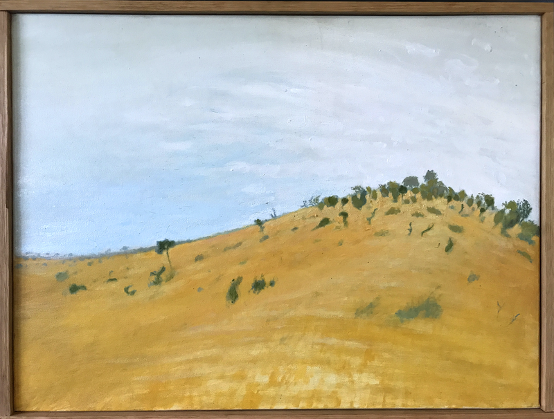 (CreativeWork) Buntine Colour Sketch by Mike Rule. oil-painting. Shop online at Bluethumb.